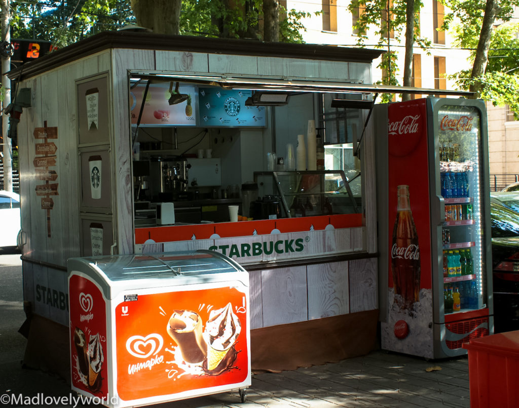 Juice & Co. - Mobiler Starbucks Vertreiber