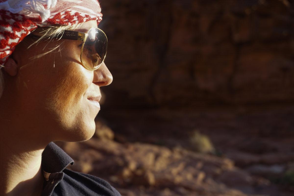 Wadi Rum Desert - Portrait