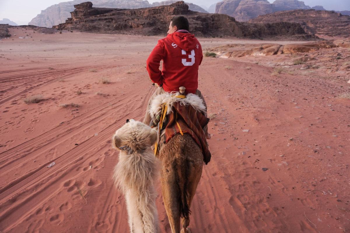 Wade Rum Camel Ride