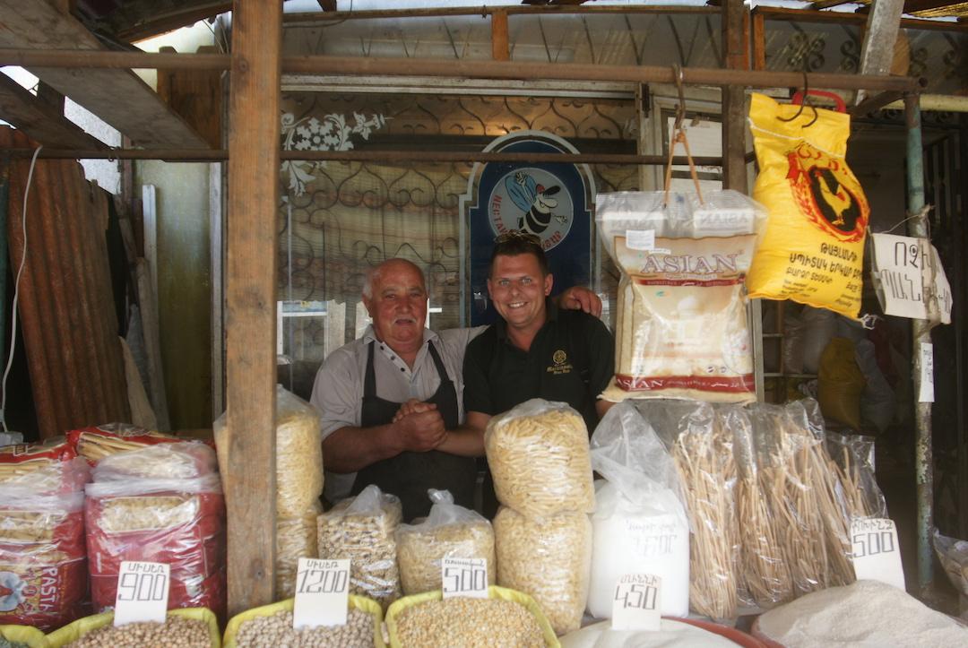 Markt in Armenien