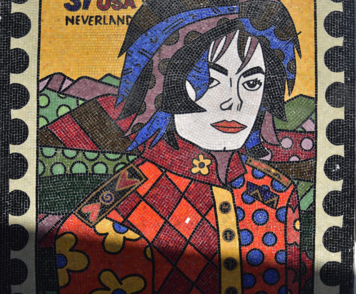 Michael Jackson Mosaik