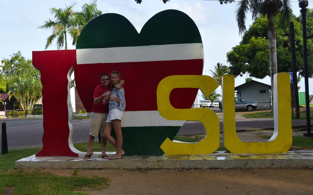 Suriname, Emblem, I love Suriname