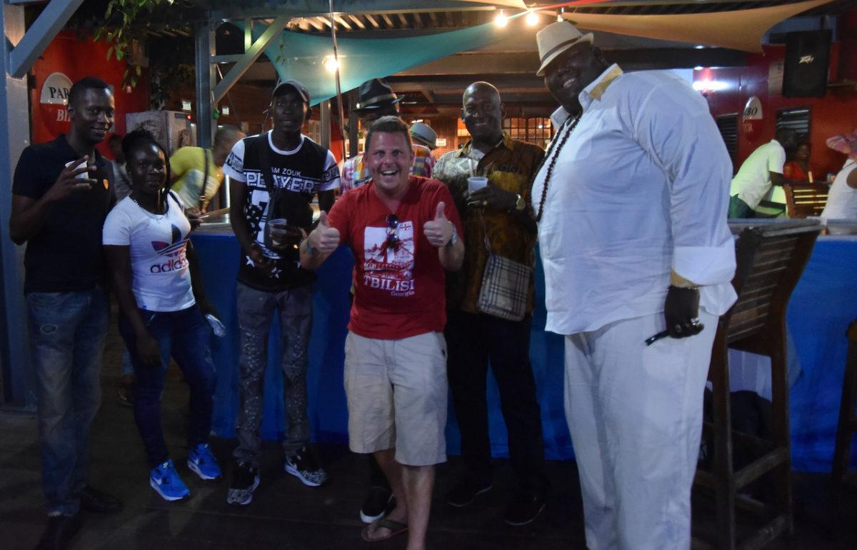 Club Lekker Chillen, Partycrew, Paramaribo, Suriname