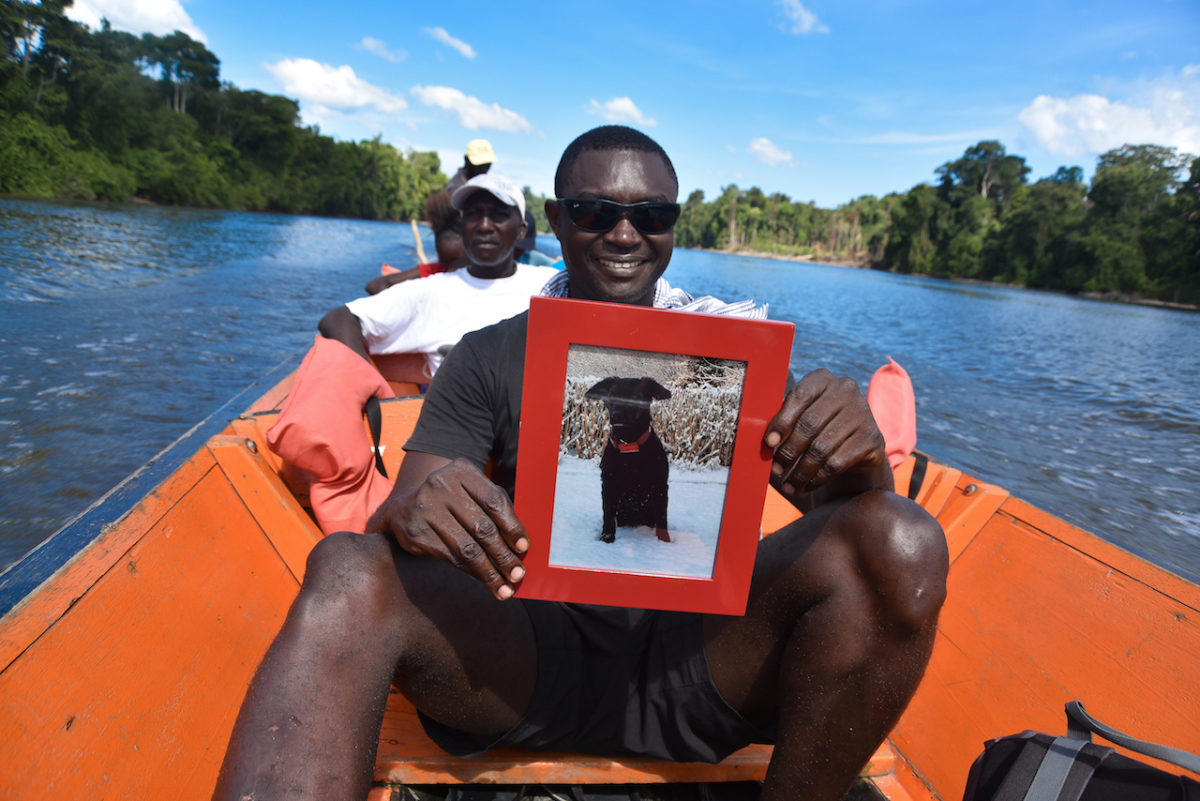 Barney, Suriname, River, Boattrip