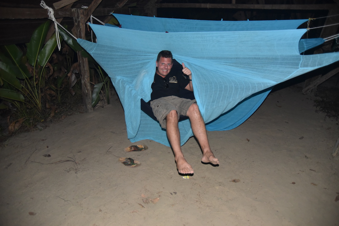 hammock, Suriname, jungle camp, Suriname,