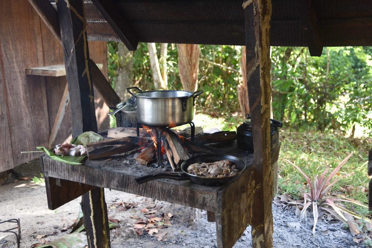 Kochen, Camp, Dschungel, Suriname