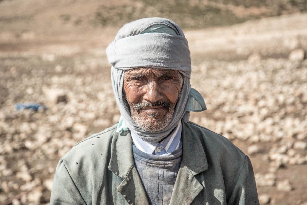 nomadischer Wüstenbewohner - Portrait