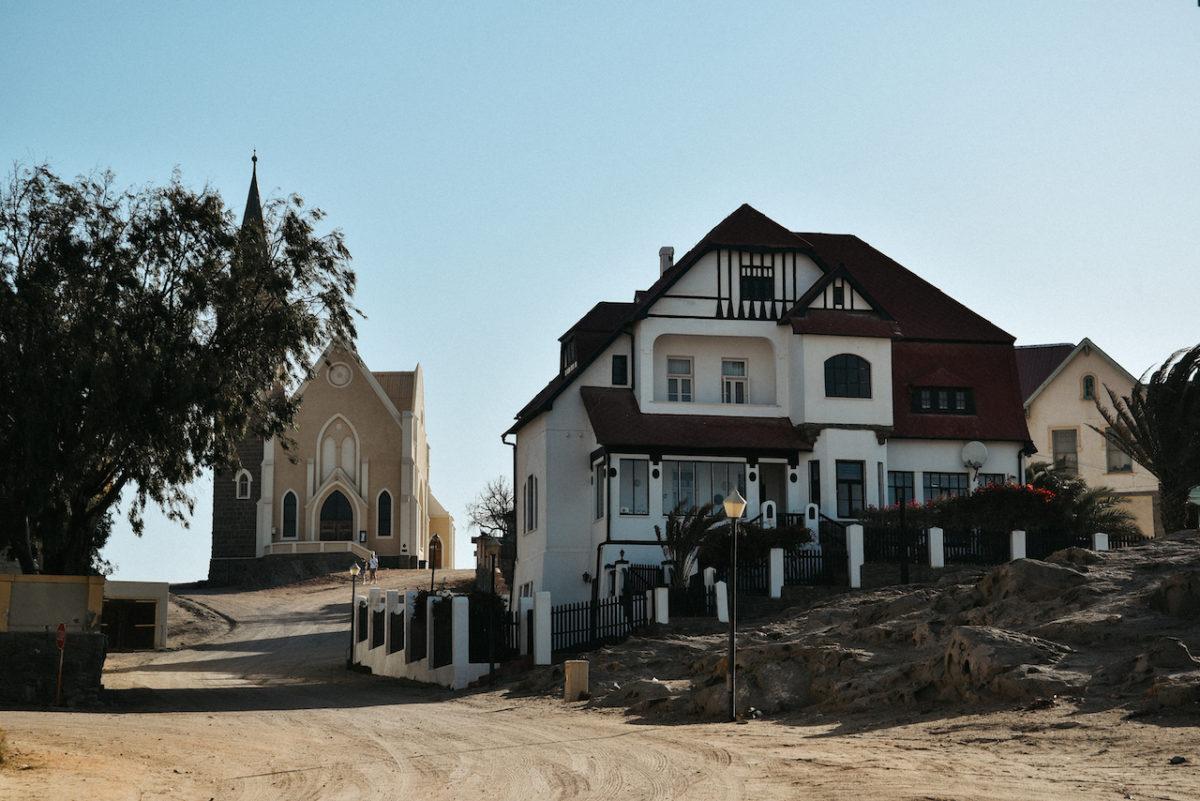 lutherische Felsenkirche Namibia