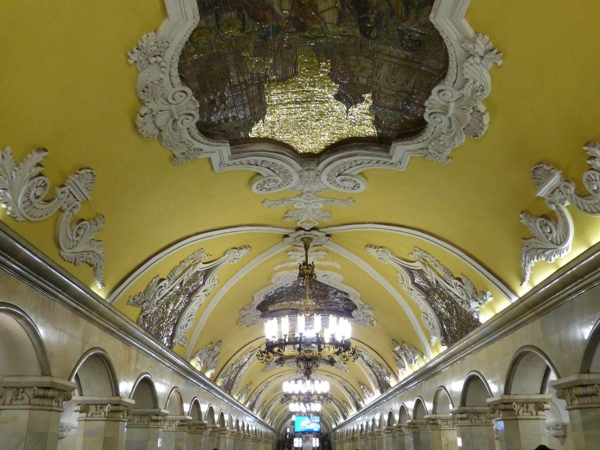 Metro Moskau Russland