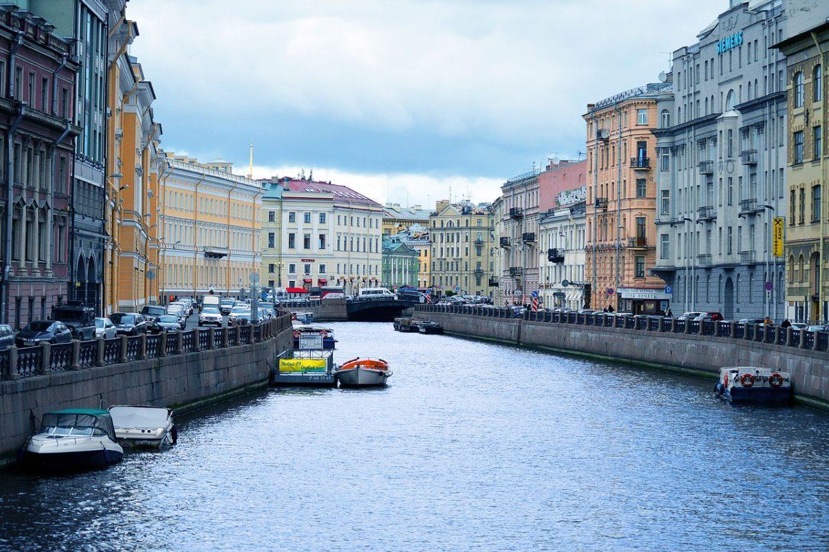 Kanalfahrt St. Petersburg